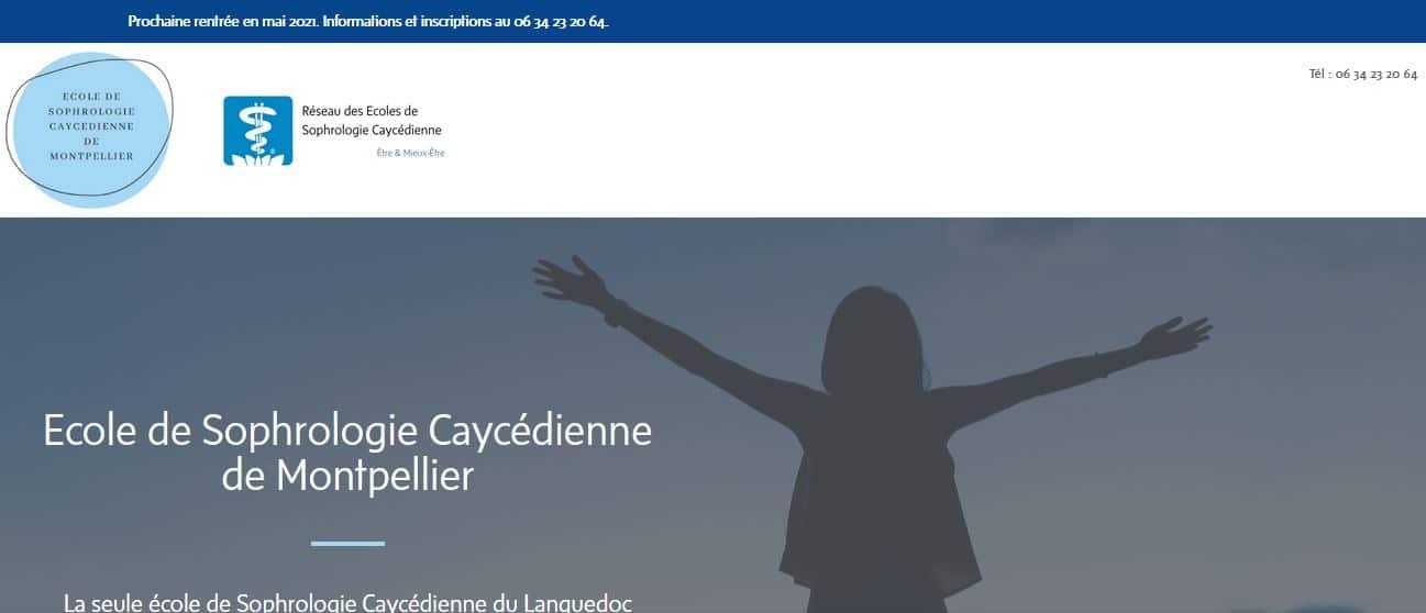 Ecole de Sophrologie Caycédienne de Montpellier