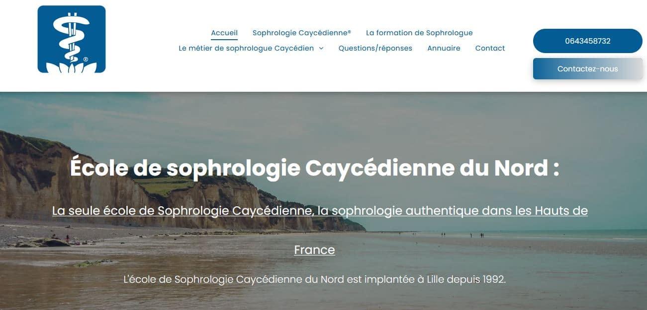 Ecole de Sophrologie Caycédienne de Lille