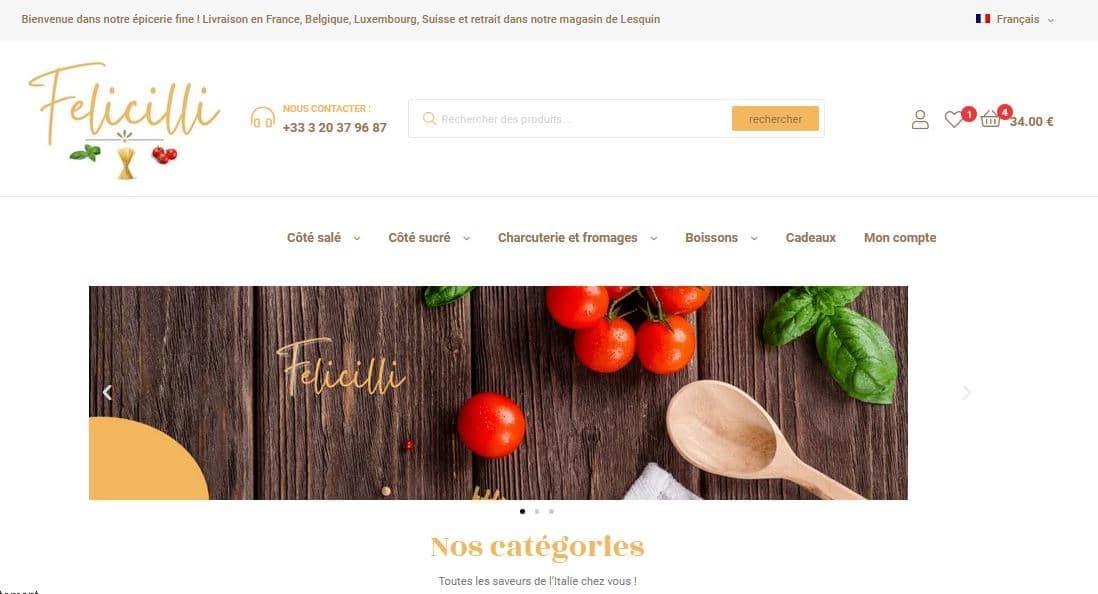Felicilli épicerie fine italienne