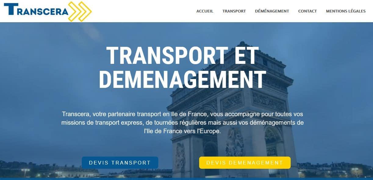 Transcera transport et déménagement